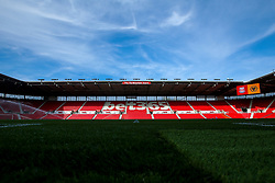 A general view of The Bet365 Stadium, home of Stoke City - Mandatory by-line: Robbie Stephenson/JMP - 25/07/2018 - FOOTBALL - Bet365 Stadium - Stoke-on-Trent, England - Stoke City v Wolverhampton Wanderers - Pre-season friendly