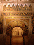 SPAIN, CORDOBA 'La Mezquita', Great Mosque, Mihrab