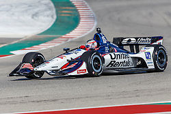 February 12, 2019 - U.S. - AUSTIN, TX - FEBRUARY 12: Graham Rahal (15) in a Honda powered Dallara IR-12 at turn 13 during the IndyCar Spring Training held February 11-13, 2019 at Circuit of the Americas in Austin, TX. (Photo by Allan Hamilton/Icon Sportswire) (Credit Image: © Allan Hamilton/Icon SMI via ZUMA Press)