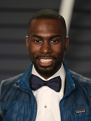 February 24, 2019 - Beverly Hills, California, U.S - DeRay Mckesson at the 2019 Vanity Fair Oscar Party held at the Wallis Annenberg Center in Beverly Hills, California on Sunday February 24, 2019. JAVIER ROJAS/PI (Credit Image: © Prensa Internacional via ZUMA Wire)