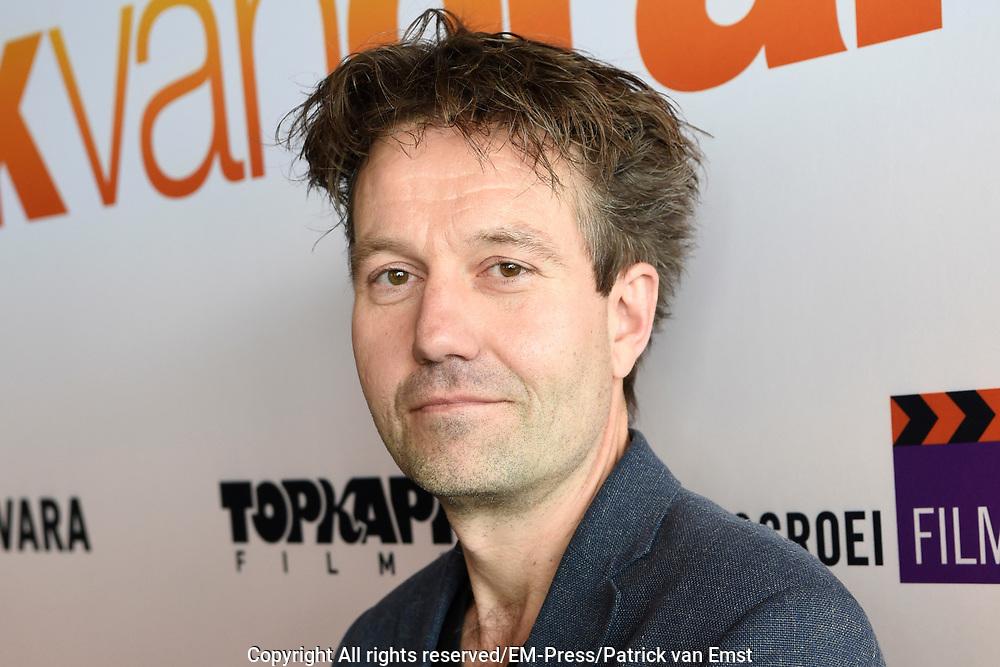 Perspresentatie Cast speelfilm GEK VAN ORANJE<br /> <br /> Op de foto:  Pim van Hoeve