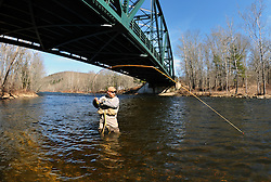 Greg Myerson on the Farmington River