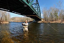 Greg Myerson on the Farmington River