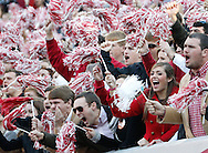 Nov 15, 2014; Tuscaloosa, AL, USA; Alabama Crimson Tide fans during the game against the Mississippi State Bulldogs at Bryant-Denny Stadium. Mandatory Credit: Marvin Gentry