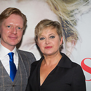 NLD/Amsterdam/20151115 - Premiere Toneelstuk Sophie, Vera mann en Sytze van der Meer