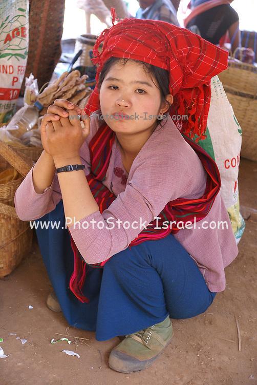 Myanmar, Shan state, Inle lake, Indein Village