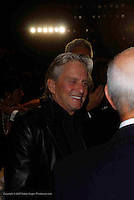 Michael Douglas frontrow at Michael Kors - during Mercede's Benz Fashion Week Spring 2010 on September 13, 2009. ..