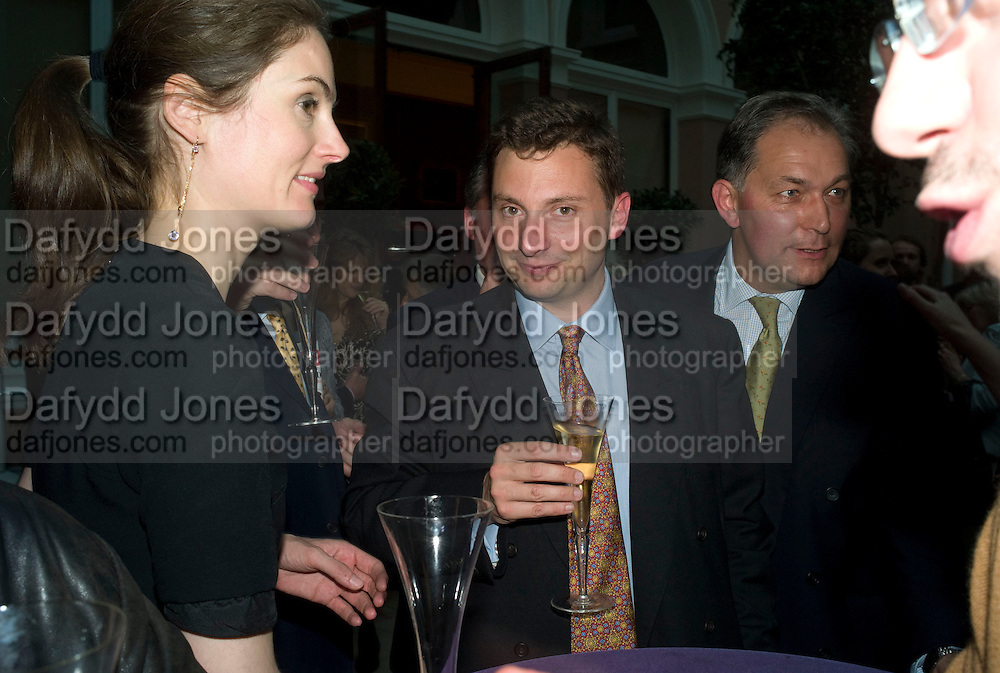 VIOLET FRASER AND JONATHAN FOREMAN, Launch of the new magazine 'Standpoint'. Wallace Collection. Manchester Sq. London. 28 May 2008.  *** Local Caption *** -DO NOT ARCHIVE-© Copyright Photograph by Dafydd Jones. 248 Clapham Rd. London SW9 0PZ. Tel 0207 820 0771. www.dafjones.com.