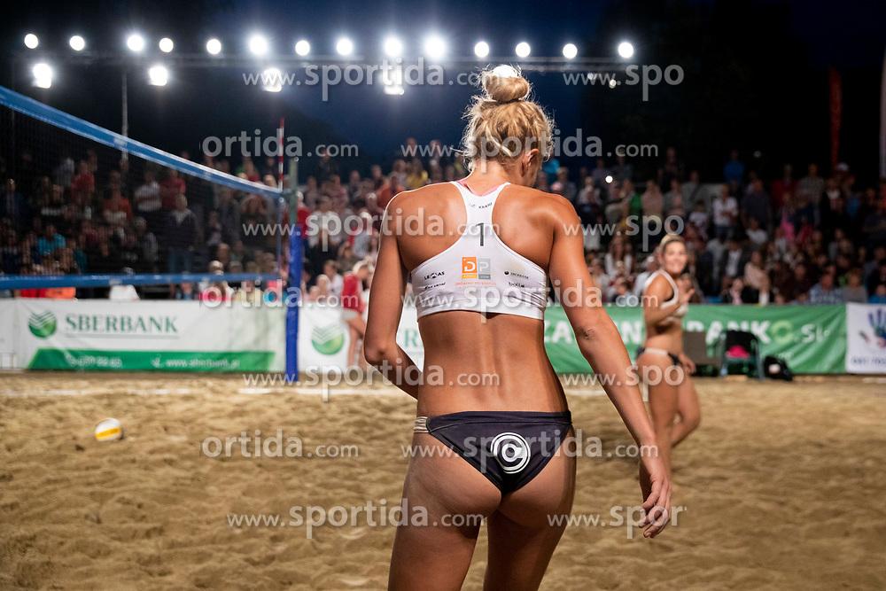 Tjasa Kotnik during Final of Beach Volleyball Slovenian National Championship 2018, on July 21, 2018 in Kranj, Slovenia. Photo by Urban Urbanc / Sportida
