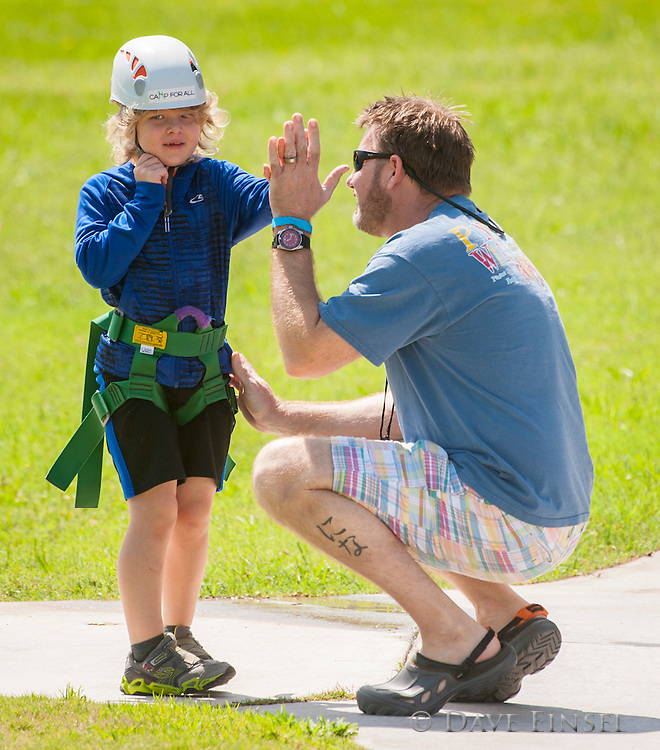 Periwinkle Foundation Family Camp at Camp for All, April 25, 2015.