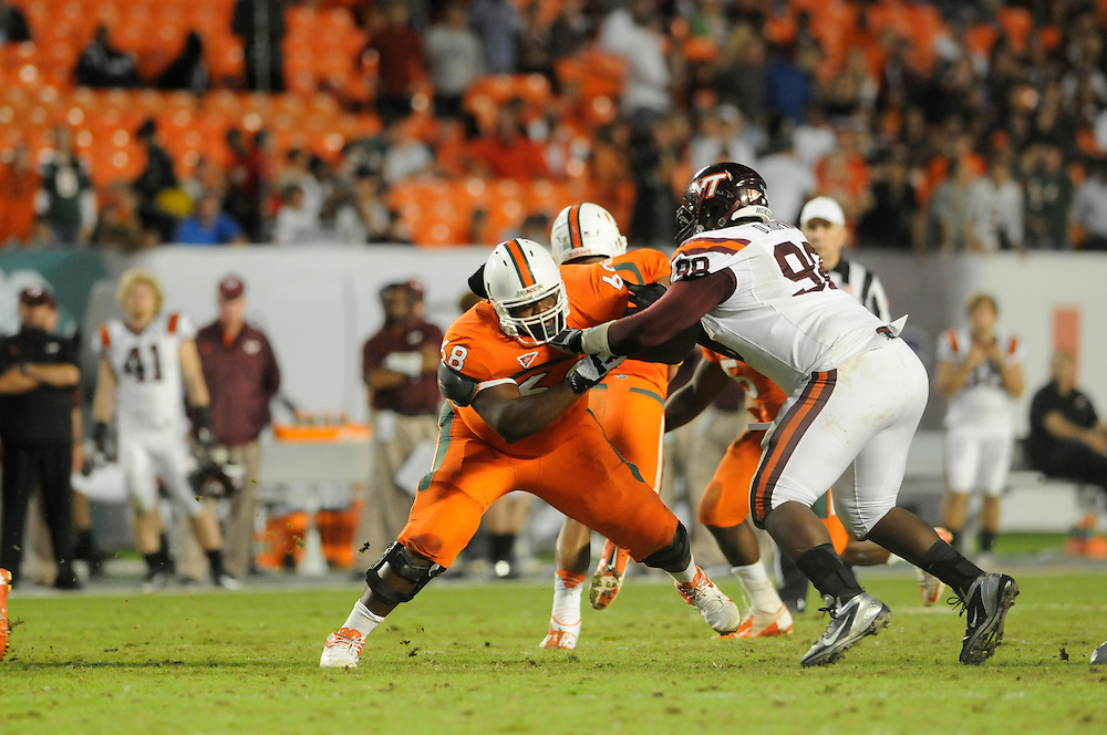 2012 Miami Hurricanes Football vs Virginia Tech