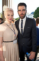 Eibh Collins and Zachary Quinto at theClosing of the 25th Galway Film Fleadh. picture:Andrew Downes