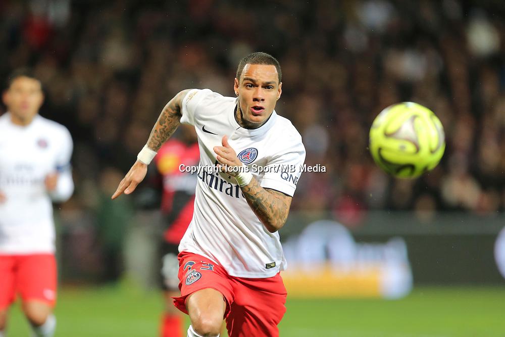 Gregory VAN DER WIEL - 14.12.2014 - Guingamp / Paris Saint Germain - 18eme journee de Ligue 1<br />Photo : Vincent Michel / Icon Sport