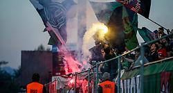 27.04.2018, Planet Pure Stadion, Lustenau, AUT, 2. FBL, SC Austria Lustenau vs FC Wacker Innsbruck, 31. Runde, im Bild Fans (FC Wacker Innsbruck) // during Austrian Second Football Bundesliga, 31th round Match between SC Austria Lustenau and FC Wacker Innsbruck the Planet Pure Stadion, Lustenau, Austria on 2018/04/27. EXPA Pictures © 2018, PhotoCredit: EXPA/ Peter Rinderer