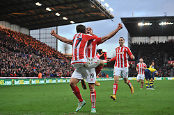 - Photo mandatory by-line: Dougie Allward/JMP - Mobile: 07966 386802 - 06/12/2014 - SPORT - Football - Stoke - Britannia Stadium - Stoke City v Arsenal - Barclays Premie League