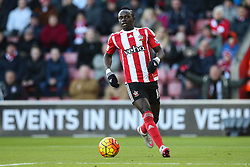 Sadio Mane of Southampton is caught offside - Mandatory by-line: Jason Brown/JMP - 07966386802 - 16/01/2016 - FOOTBALL - Southampton, St Mary's Stadium - Southampton v West Bromwich Albion - Barclays Premier League
