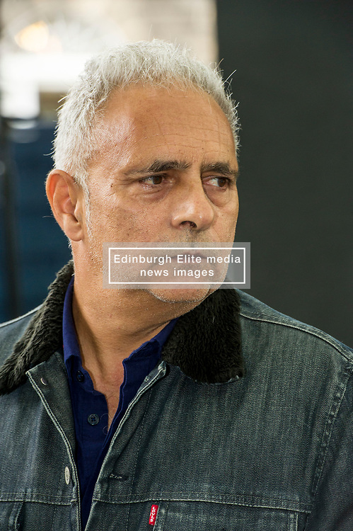 """Pictured: Hanif Kureishi, CBE is a British playwright, screenwriter, filmmaker and novelist of Pakistani and English descent. In 2008, The Times included Kureishi in their list of """"The 50 greatest British writers since 1945""""<br /> <br /> Book fanatics headed to Charlotte Square in Edinburgh which is the hub of the international Book Festival to meet the authors and also to meet up with fellow fans of the printed word.<br /> <br /> <br /> Ger Harley 