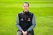 Physiotherapist Gary Metcalfe portrait during the Somerset County Cricket Club PhotoCall 2017 at the Cooper Associates County Ground, Taunton, United Kingdom on 5 April 2017. Photo by Graham Hunt.