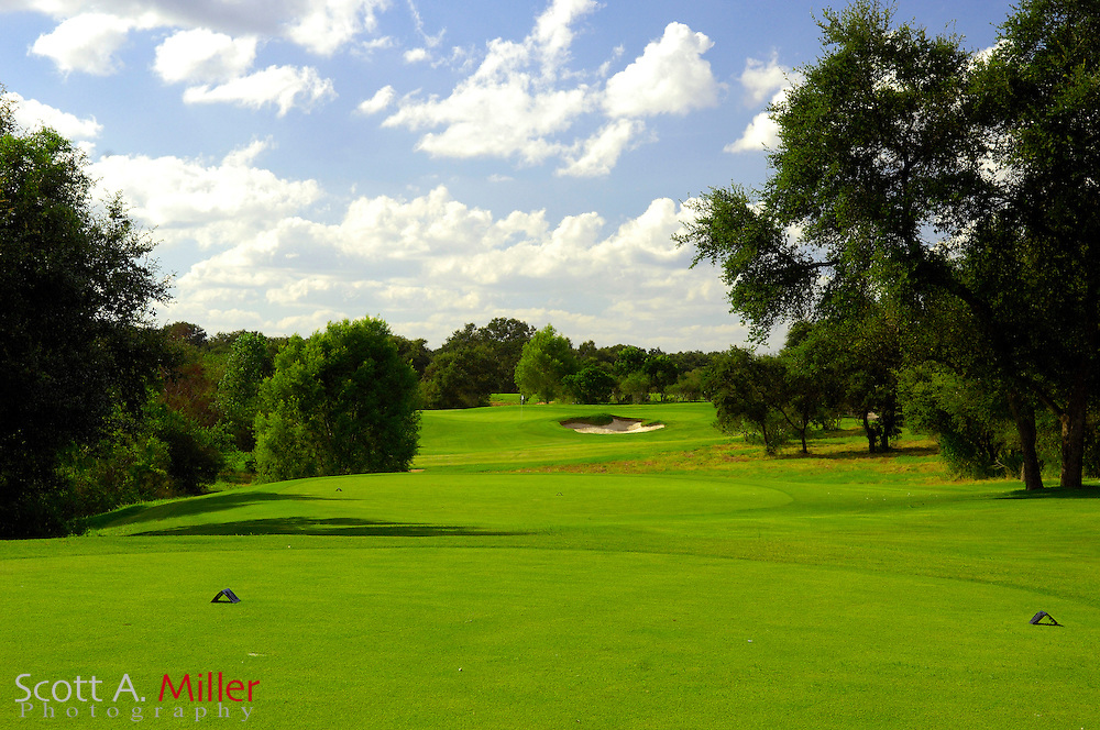 September 7, 2007, San Antonio, Texas; Hole No. 8 at the Briggs Ranch Golf CLub...                ©2007 Scott A. Miller