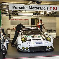 #91, Porsche 911 RSR (2016), Porsche Motorsport, driven by Patrick Pilet, Kevi Estre, Nick Tandy, 24 Heures Du Mans 14 June 2016,