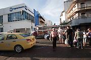 San Felipe es un corregimiento del distrito de Panamá, ubicado en el centro urbano de la ciudad de Panamá. Ocupa el lugar en el que originalmente se construyó la nueva ciudad de Panamá, fundada oficialmente en 1673 y protegida por una muralla posteriormente construida en 1678. Debido a esto, en este corregimiento esá ubicada la mayor parte del casco antiguo de la ciudad, antiguamente correspondiente a la zona de intramuros. El actual corregimiento fue creado el 29 de abril de 1915, junto a los de Santa Ana, Calidonia y El Chorrillo. El barrio de San Felipe está situado en una península que ha conservado el trazado octogonal que se le dio a la nueva ciudad de Panamá, así como numerosos edificios civiles y religiosos, algunos de ellos reconstruidos con las mismas piedras de Panamá la Vieja. Hoy día se pueden observar también parte de las murallas de la nueva ciudad.©Victoria Murillo/Istmophoto.com
