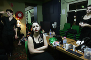 Backstage before a performance, Oxford Street, Sydney.  2007.