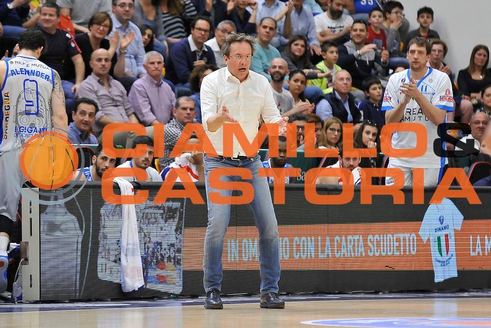 DESCRIZIONE : Beko Legabasket Serie A 2015- 2016 Dinamo Banco di Sardegna Sassari - Pasta Reggia Juve Caserta<br /> GIOCATORE : Federico Pasquini<br /> CATEGORIA : Allenatore Coach Ritratto Curiosit&agrave;<br /> SQUADRA : Dinamo Banco di Sardegna Sassari<br /> EVENTO : Beko Legabasket Serie A 2015-2016<br /> GARA : Dinamo Banco di Sardegna Sassari - Pasta Reggia Juve Caserta<br /> DATA : 03/04/2016<br /> SPORT : Pallacanestro <br /> AUTORE : Agenzia Ciamillo-Castoria/C.Atzori