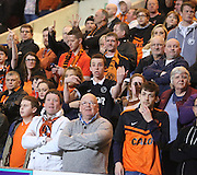 United fans as Dundee go 3-1 up in the derby - Dundee v Dundee United - SPFL Premiership at Dens Park<br /> <br />  - &copy; David Young - www.davidyoungphoto.co.uk - email: davidyoungphoto@gmail.com