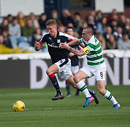 Dundee&rsquo;s Mark O&rsquo;Hara goes past Celtic&rsquo;s Scott Brown  - Dundee v Celtic in the Ladbrokes Scottish Premiership at Dens Park, Dundee.Photo: David Young<br /> <br />  - &copy; David Young - www.davidyoungphoto.co.uk - email: davidyoungphoto@gmail.com