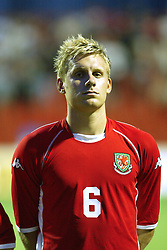 NOVI SAD, SERBIA -Tuesday, August 19th, 2003: Wales' Jamie Tolley before the UEFA Under 21 European Championship Group 9 Qualifying match against Serbia & Montenegro at the Karadorde Stadium. (Pic by David Rawcliffe/Propaganda)