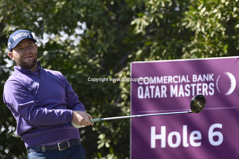 30/01/2016 European Tour 2016, Commercial Bank Qatar Masters, Doha GC, Doha, Qatar. 27-30 Jan. Branden  Grace of South Africa during the final round