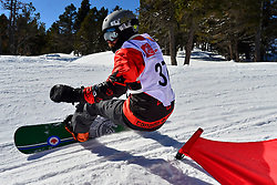 World Cup Banked Slalom, LESLIE John, CAN at the 2016 IPC Snowboard Europa Cup Finals and World Cup