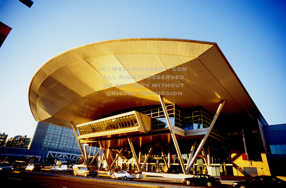 Image of the Boston Convention and Exhibition Center, Boston, Massachusetts, New England