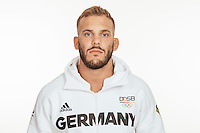 Karl- Richard Frey poses at a photocall during the preparations for the Olympic Games in Rio at the Emmich Cambrai Barracks in Hanover, Germany, taken on 12/07/16 | usage worldwide