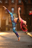 Dance As Art: The New York City Photography Project Streets of the West Village Series with dancer Sarah Botero