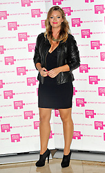 Hayley McQueen attends the launch party for Breast Cancer Campaign at Tower 42, London, England, October 1, 2012. Photo by Chris Joseph / i-Images.