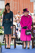 Queen Elizabeth & Kate Middleton 1st Joint Visit 2012