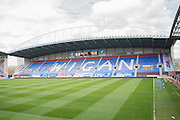 DW Stadium ahead of the Sky Bet League 1 match between Wigan Athletic and Coventry City at the DW Stadium, Wigan, England on 9 April 2016. Photo by John Marfleet.