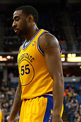 March 14, 2011; Sacramento, CA, USA;  Golden State Warriors small forward Reggie Williams (55) before a free throw against the Sacramento Kings during the second quarter at the Power Balance Pavilion. Sacramento defeated Golden State 129-119.