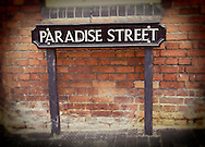 Paradise Street Sign, Oxford, Britain