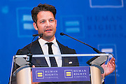 HRC's Greater NY Gala 2014 held at the Waldorf=Astoria in New York City on Saturday, February 8, 2014. (Photo: JeffreyHolmes.com) Nate Berkus speaking.