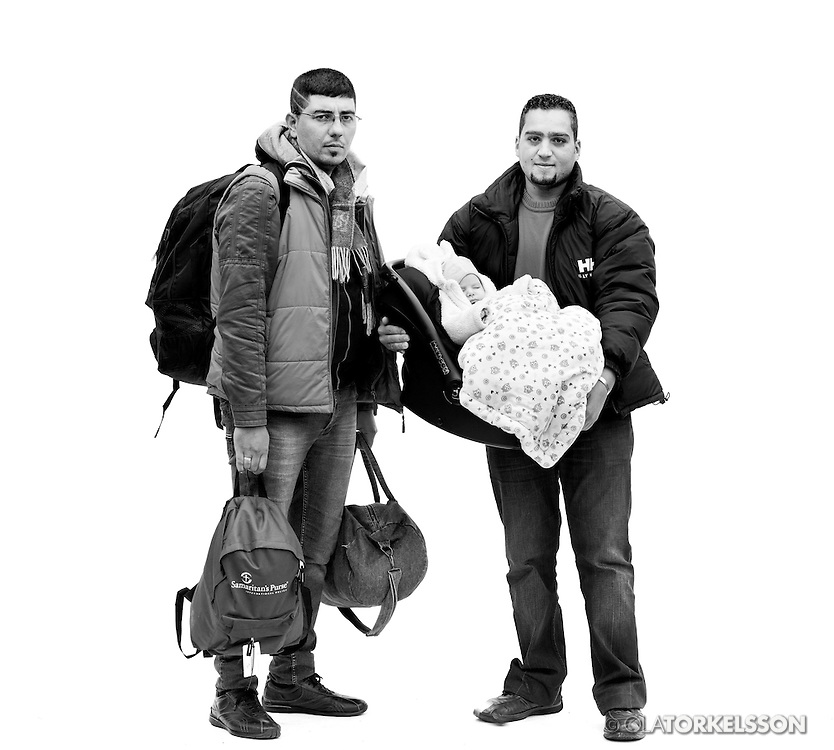 Malm&ouml;, Sweden October 2015.<br /> Pictures of newly arrived refugees in Malm&ouml;, Sweden.<br /> Photo by Ola Torkelsson <br /> Copyright Ola Torkelsson &copy;