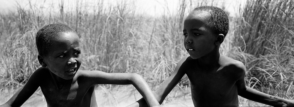 Mjemps Boys, Longicaro Island, Kenya, July, 2002