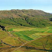 Miðdalur séð til austurs, Bláskógabyggð áður Laugardalshreppur / Middalur viewing east, Blaskogabyggd former Laugardalshreppur.