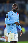 Bobby Adekanye of Lazio reacts during the UEFA Europa League, Group E football match between SS Lazio and CFR Cluj on November 28, 2019 at Stadio Olimpico in Rome, Italy - Photo Federico Proietti / ProSportsImages / DPPI