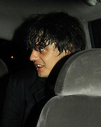 03.07.2007. LONDON<br /> <br /> PETE DOHERTY LEAVING JAZZ AFTER DARK AFTER PERFORMING LOW KEY GIG IN SOHO, LONDON, UK.<br /> <br /> BYLINE: EDBIMAGEARCHIVE.CO.UK<br /> <br /> *THIS IMAGE IS STRICTLY FOR UK NEWSPAPERS AND MAGAZINES ONLY*<br /> *FOR WORLD WIDE SALES AND WEB USE PLEASE CONTACT EDBIMAGEARCHIVE - 0208 954 5968*