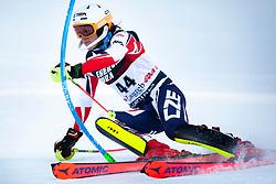 """ZABYSTRAN Jan (CZE)  competes during the Audi FIS Alpine Ski World Cup """"Snow Queen Trophy"""" Men's Slalom, on January 5, 2020 in Sljeme, Zagreb, Croatia. Photo by Sinisa Kanizaj / Sportida"""