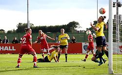 (Caption Correction) Claire Emslie of Bristol City Women scores her sides second goal against Oxford United Women - Mandatory by-line: Robbie Stephenson/JMP - 25/06/2016 - FOOTBALL - Stoke Gifford Stadium - Bristol, England - Bristol City Women v Oxford United Women - FA Women's Super League 2