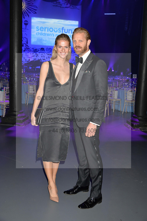 ALISTAIR GUY and BARBORA BEDIOVA at the SeriousFun Children's Network London Gala held at The Roundhouse, Chalk Farm Road, London on 3rd November 2016.