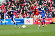 Bristol City midfielder, Marlon Pack (21) on the ball during the Sky Bet Championship match between Bristol City and Cardiff City at Ashton Gate, Bristol, England on 5 March 2016. Photo by Shane Healey.